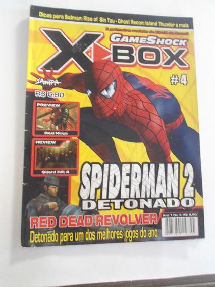 Revista Xbox Game Shock N 4 - Frete 15,00