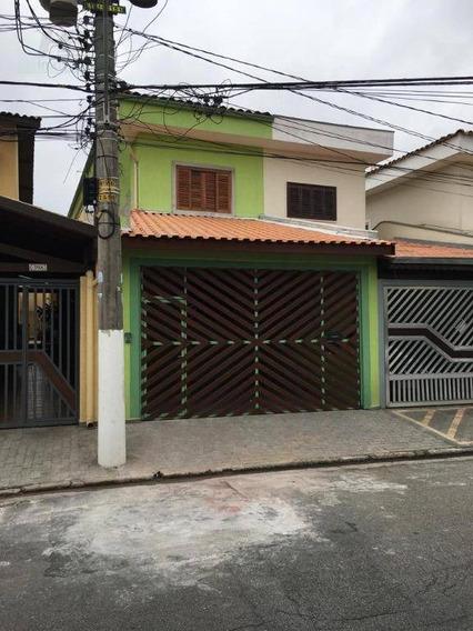 Sobrado Residencial À Venda, Vila São Francisco, São Paulo. - So0294