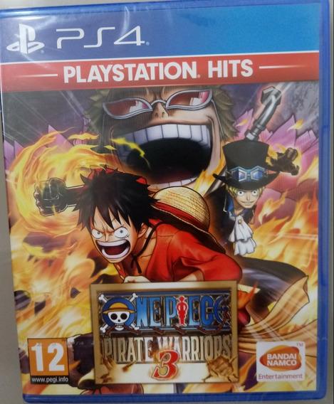 One Piece: Pirate Warriors 3 Ps4 Mídia Física Lacrado