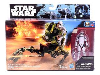 Star Wars E7 Nave Con Figuras Class I Original Hasbro B3716