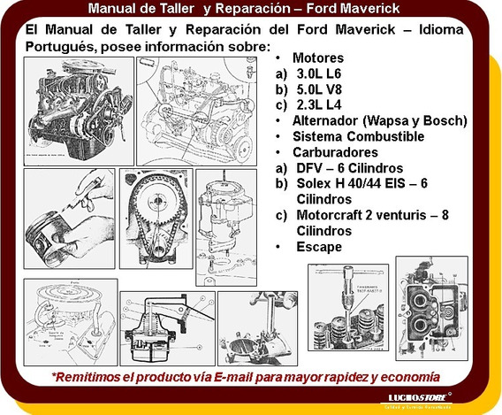 Maverick Manual De Workshop Todos Os Modelos (taller)