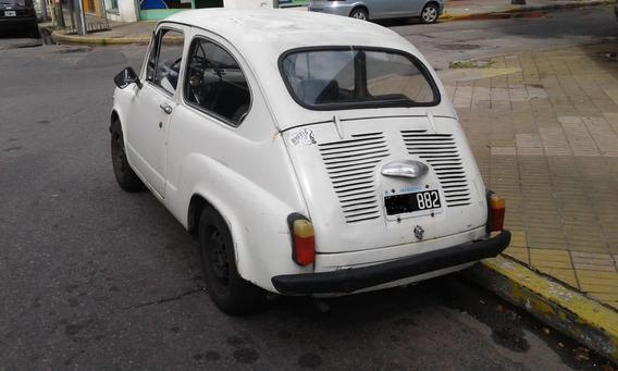 Fiat 600 R Mod 71 Titular Particular