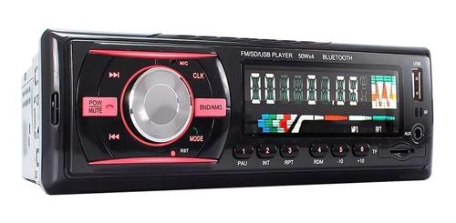 Som automotivo Briwax BF-9661 com USB, bluetooth e leitor de cartão SD