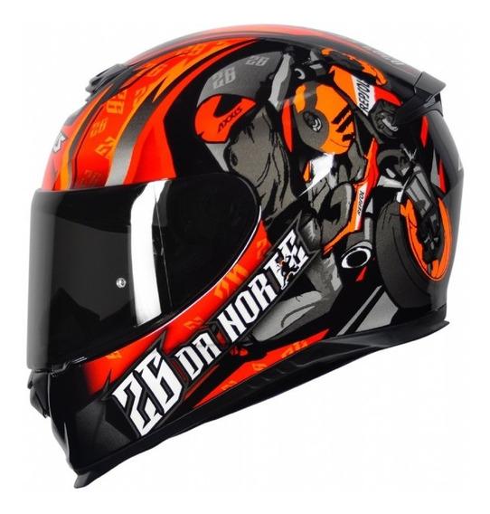 Capacete Para Moto Axxis Mt Axxis Eagle 26 Da Norte + Nf