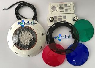 Reflector Foco Alberca Extra Plano 8w 12v Inter Water