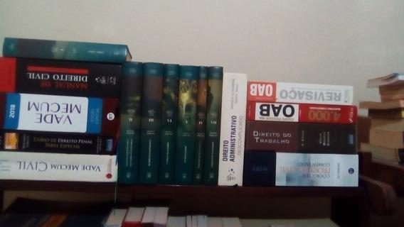 Lote De Livros Jurídicos
