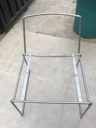 Imagem 1 de 4 de Armação De Cadeira De Ferro
