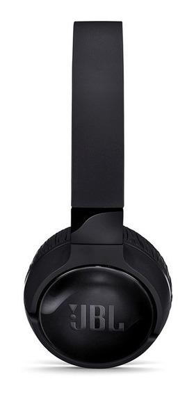 Fone De Ouvido Jbl Tune 600 Bluetooth Noise Canceling Preto