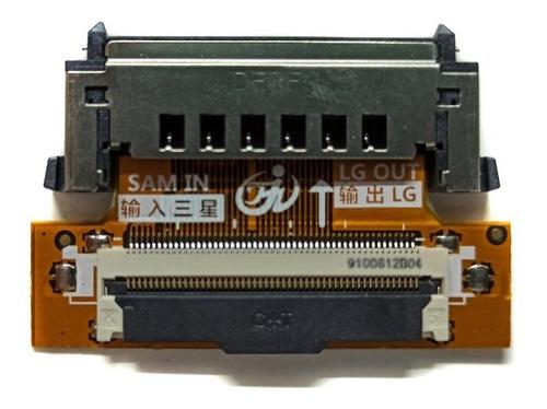 Imagen 1 de 3 de Convertidor De Señal Lvds Samsung A LG 51 Pines