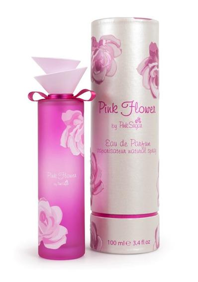 Decant Amostra - 5ml Pink Flower Edp Aquolina Original Spray