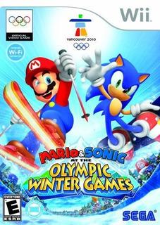 Mario Y Sonic En Los Juegos Olimpicos De Invierno Nintendo