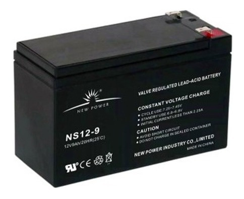 Batería De Gel De 12v Y 9ah - Repuesto De Ups