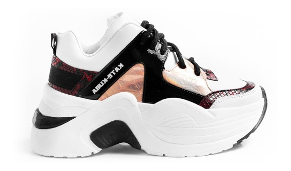 Zapatillas Sneakers Mujer Plataformas Sunder Katekuba