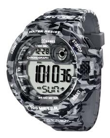 Relógio X-games Masculino Digital Xmppd288 Camuflado