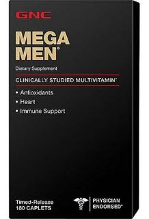 Gnc Mega Men 180 Caps Multivitamínico! Validade 2020