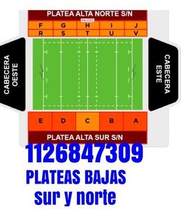 Entradas Jaguares Semifinal Plateas Norte-sur Bajas