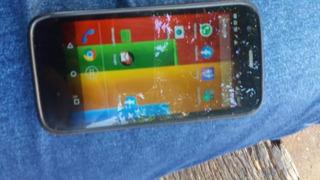 Celular Moto G1 Com Mancha Na Tela