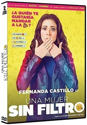 Una Mujer Sin Filtro Fernanda Castillo Pelicula Mexicana Dvd