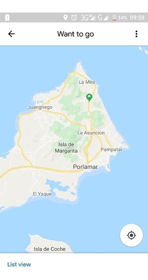 Terreno En Margarita Con Pozo Zona Turística. 10 Min Playa