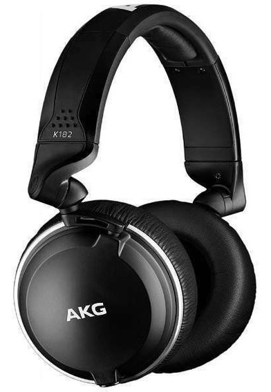 Fone De Ouvido Profissional Akg K182 Over Ear - Impecável!!