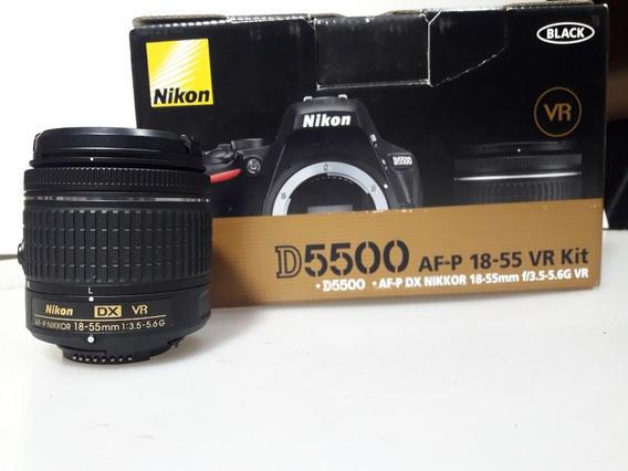 Vendo Nikon D5500 Con Lente Kit Y Bateria
