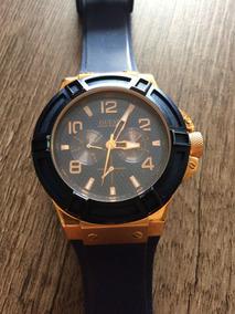Relógio Guess Dourado/azul