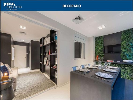 Studio Apartamento You Faria Lima Em Obras Entrega 11/2019