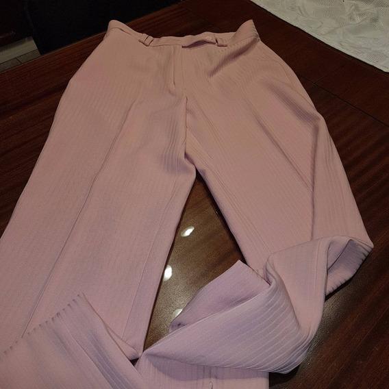 Pantalon Estela Manteiga Fantasia Rosa T M