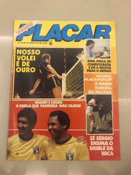 Revista Placar Nº 693 Agosto De 1983 = Desfile De Craques