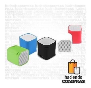 Parlante Bluetooth G53 Mini Cube Ag-s4 | Haciendocompras