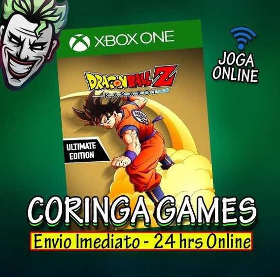 Dragon Ball Kakarot Ultimate Edition Xbox One Mídia Digital