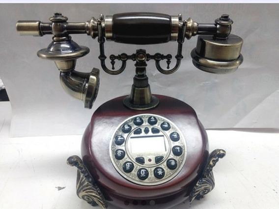 Telefono De F\antiguo Con Identificador De Llamada
