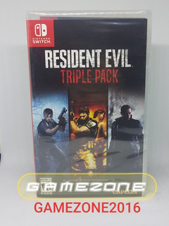 Resident Evil Triple Pack * Nuevo * Fisico * Switch *