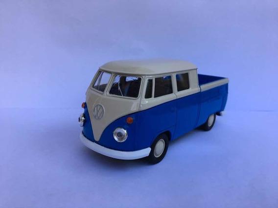 Miniatura Kombi Perua Pick-up Azul 1969
