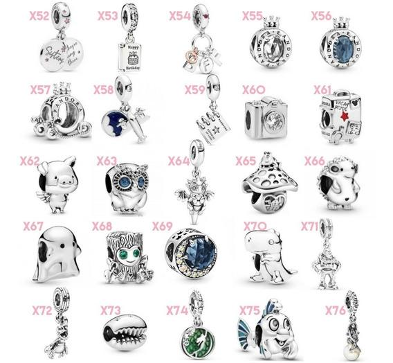 Charms Pandora 1 Pieza Nueva Colección 100% Plata