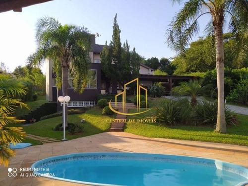Imagem 1 de 30 de Casa Residencial À Venda, Paragem Dos Verdes Campos, Gravataí. - Ca0329