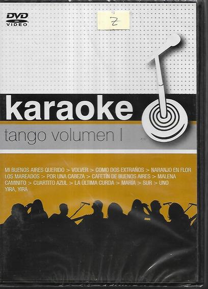 Karaoke Canta Los Mejores Tangos Vol.1 Con 15 Temas Dvd