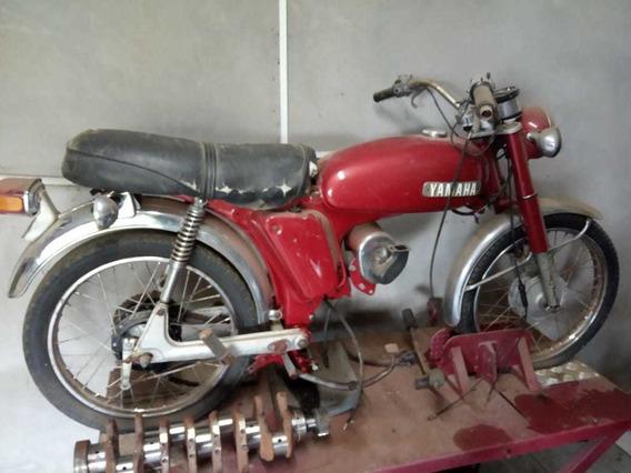 Yamaha Yb50 Vermelha 1974