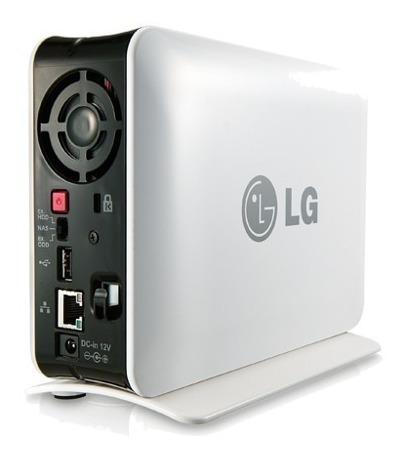 Lg Nas Server Com 1tb E Gravador De Dvd