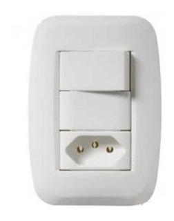 Kit Pezzi 50000 3 Interruptores Simples Ou Tomada 10a 20a