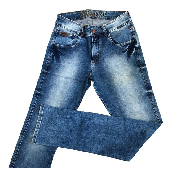 Calça Masculina Jeans Estonada Bivik