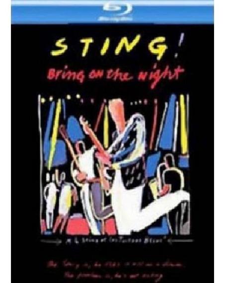 Sting Bring On The Night Bluray Nuevo Importado The Police