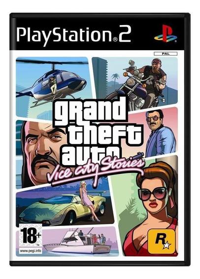 Grand Theft Auto Vice City Stories Ps2 Europeu Mídia Física