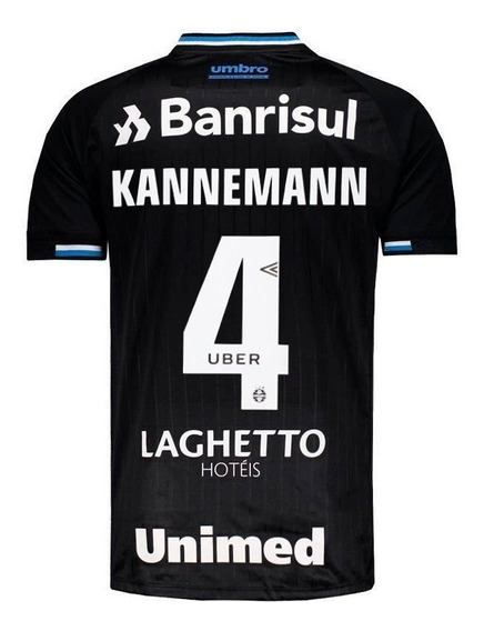 Camisa Umbro Grêmio Iii 2018 4 Kannemann