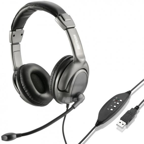 Fone Com Microfone Usb Digital Pc - Ph043