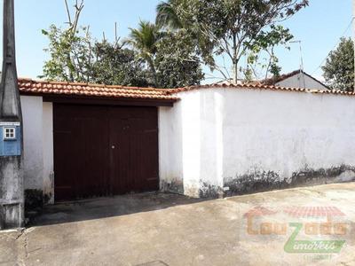 Edícula Para Venda Em Peruíbe, Jardim Peruibe, 1 Dormitório, 1 Banheiro, 8 Vagas - 2454