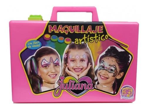 Valija Juliana Maquillaje Artistico Grande Juegos Y Juguetes
