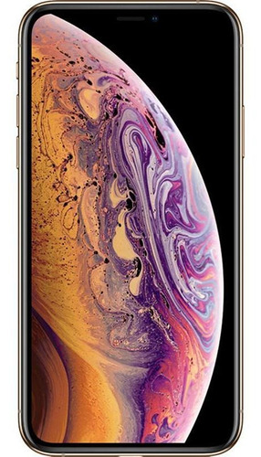 Imagem 1 de 4 de iPhone XS Max 64gb Usado Dourado Excelente Seminovo