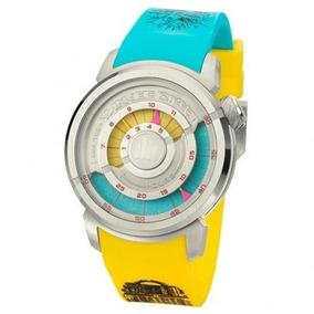 Relógio Unissex Yankee Street Azul-amarelo C/nf Ys38187f