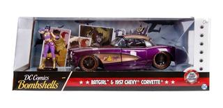 Dc Comics 1957 Bombshells Jada Chevy Corvette Batgirl